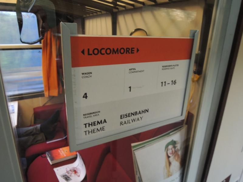 Themenvorschlag für ein Abteil des Locomore