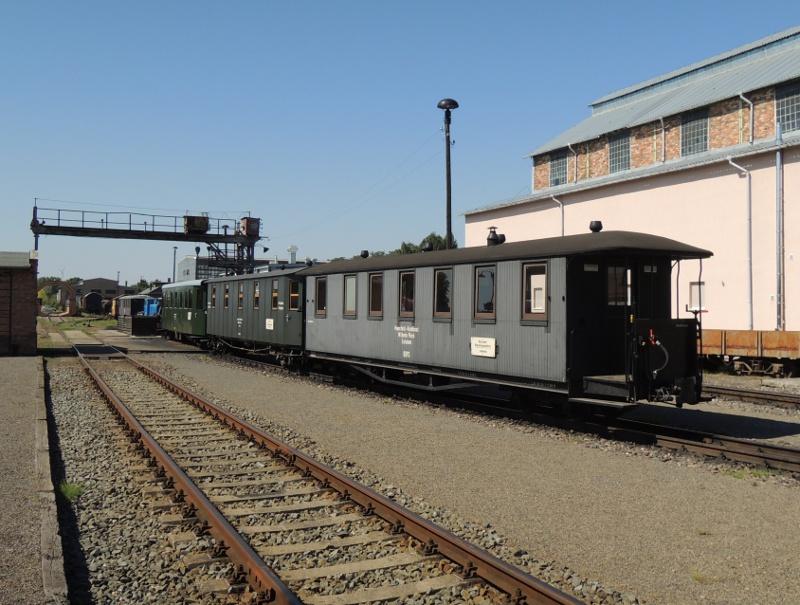 Schmalspur-Personenwagen der Mansfelder Bergwerksbahn