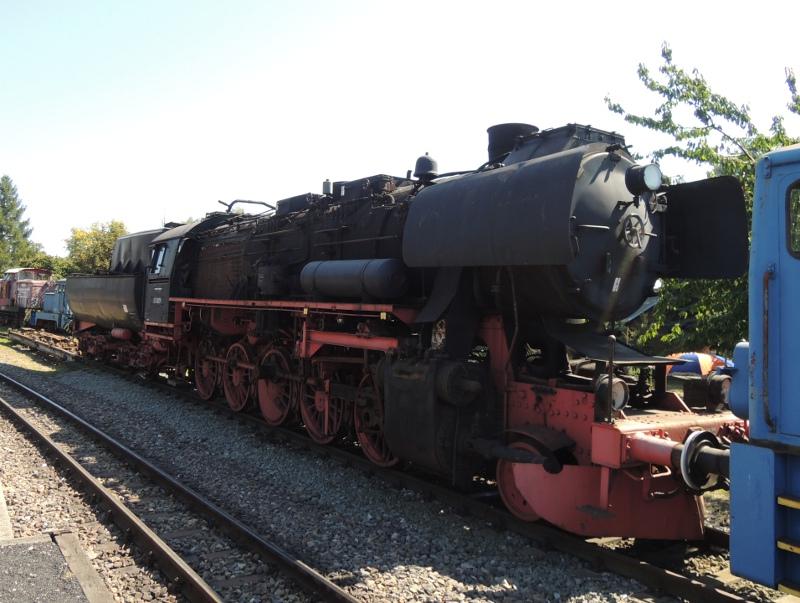 Normalspur-Dampflok der Mansfelder Bergwerksbahn