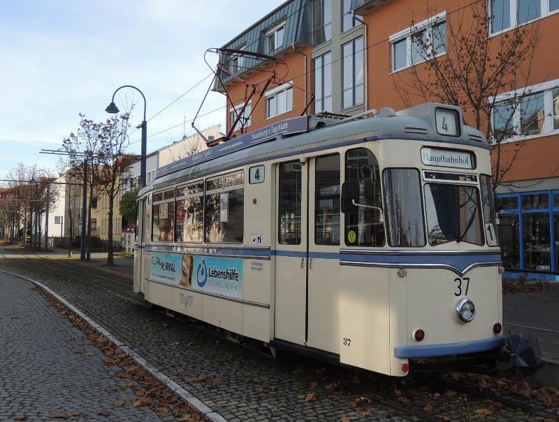 Gothaer der Naumburger Straßenbahn