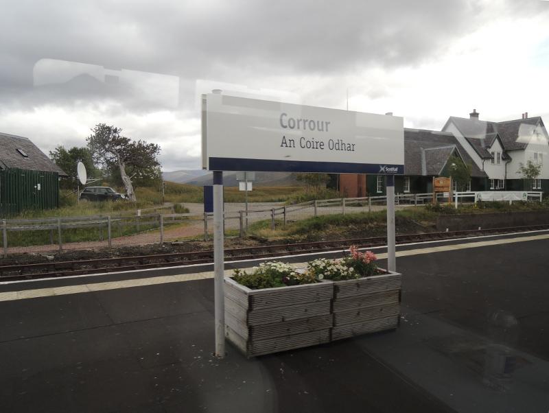 Bahnhof Corrour
