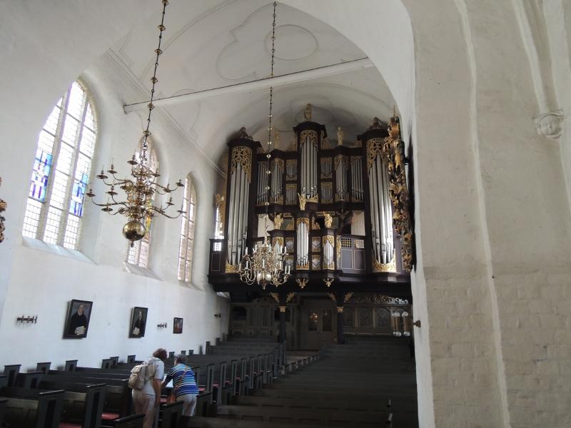 Arp-Schnitger-Orgel in der St.-Cosmae-und-Damian-Kirche in Stade