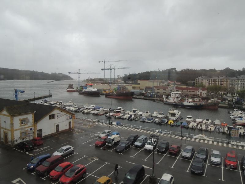 Küstenort zwischen Oviedo und Ferrol