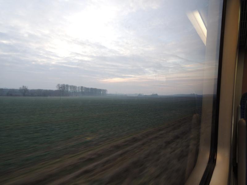 Blick aus der Pfefferminzbahn