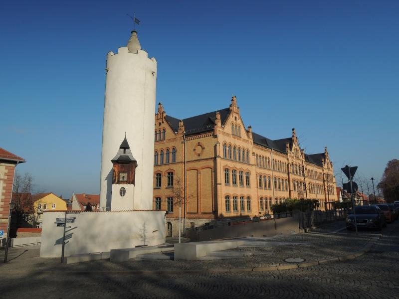 Weißer Turm in Pößneck