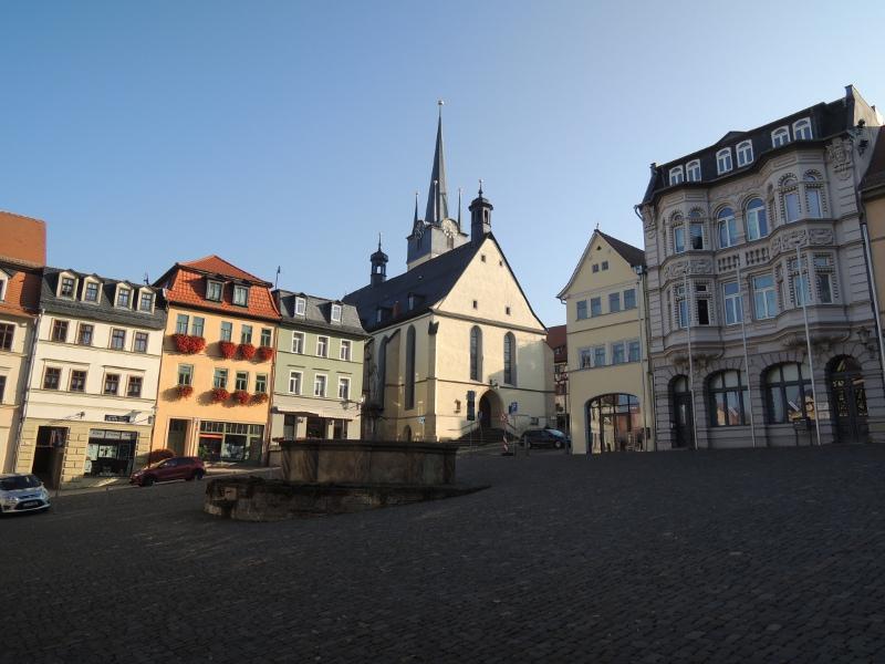 Marktplatz in Pößneck