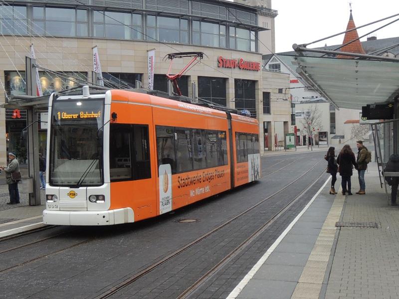 NGT6 der Plauener Straßenbahn