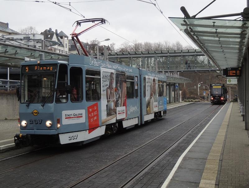 KT4D der Plauener Straßenbahn