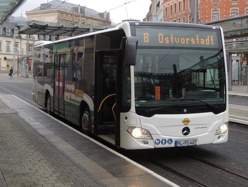 Citaro II der Plauener Straßenbahn