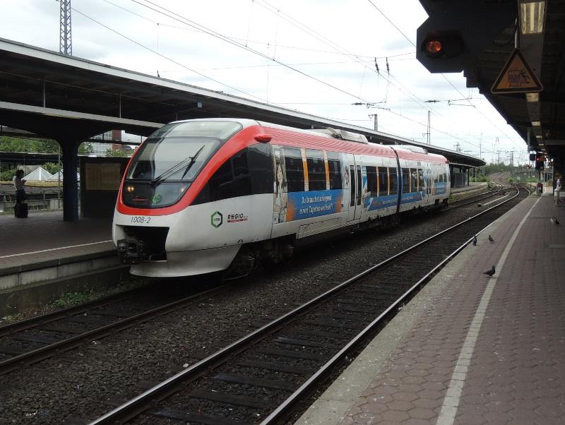 Zug der Regiobahn