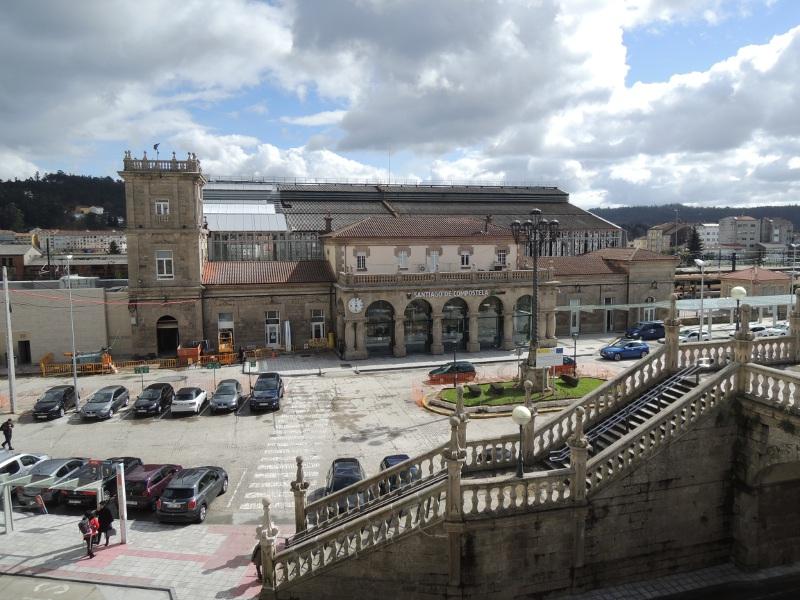 Bahnhof Santiago de Compostela