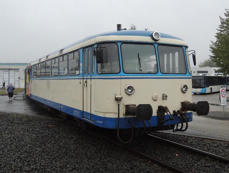 Uerdinger Schienenbus der Rurtalbahn