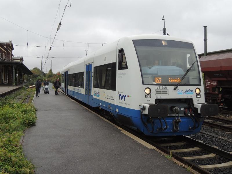 Regio-Shuttle der Rurtalbahn