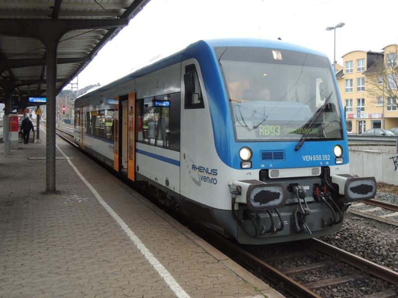 Regio-Shuttle von Rhenus Veniro