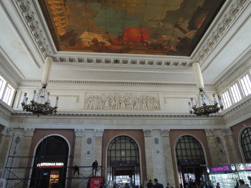 Im Bahnhof Sankt Peterburg Moskowskij