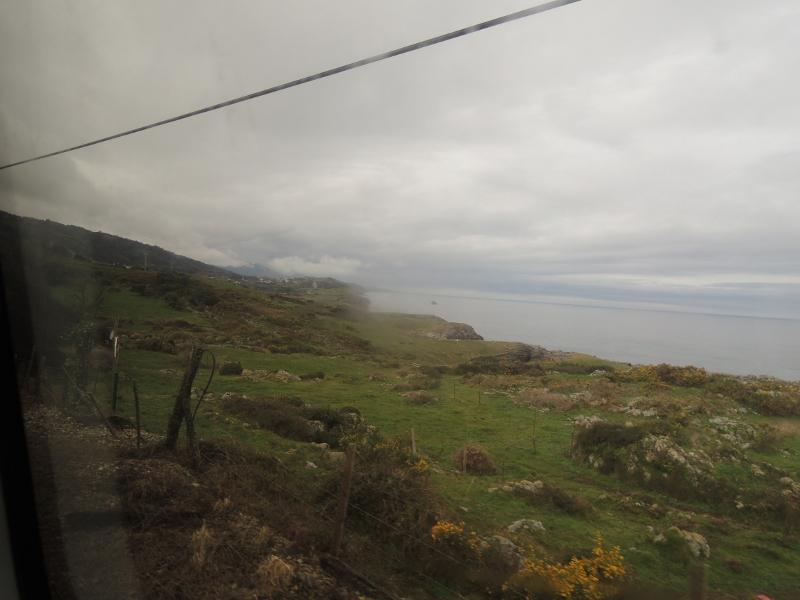 Landschaft zwischen Santander und Oviedo