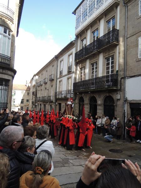 Palmsonntagsprozession in Santiago de Compostela