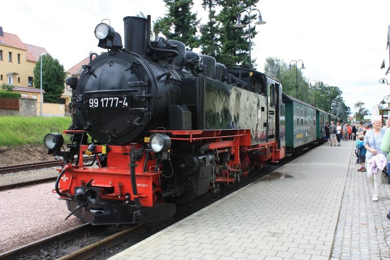 Zug des Lößnitzdackels in Moritzburg