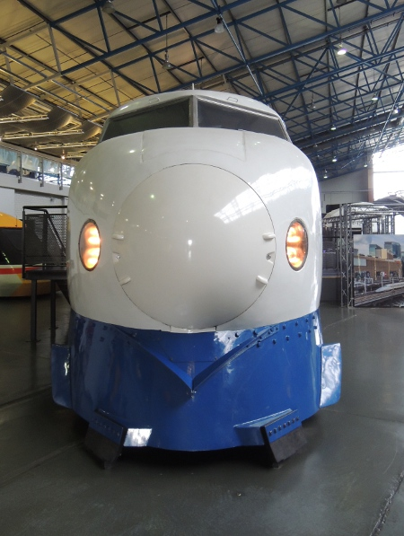 Shinkansen im National Railway Museum