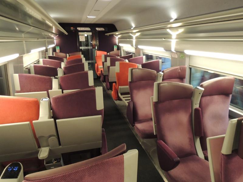 Lacroix-Inneneinrichtung im TGV