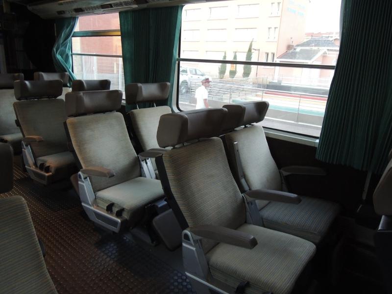 Ruhesessel im SNCF-Nachtzug