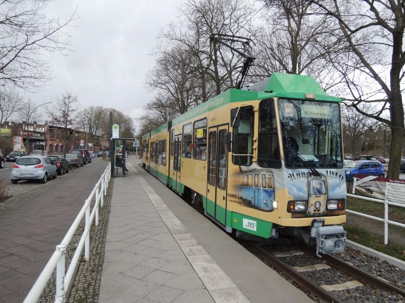 Triebwagen der SRS