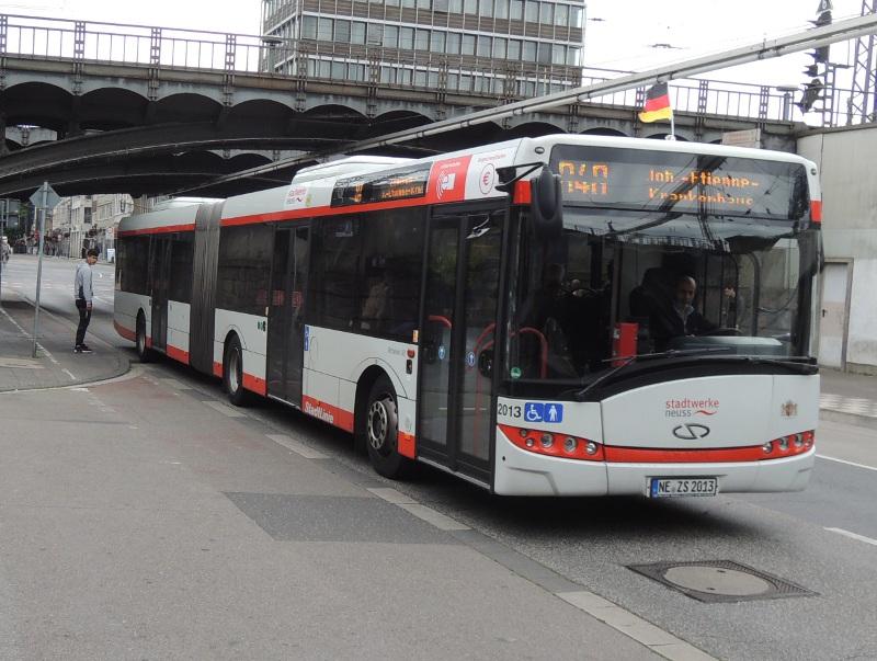 Bus der Stadtwerke Neuss