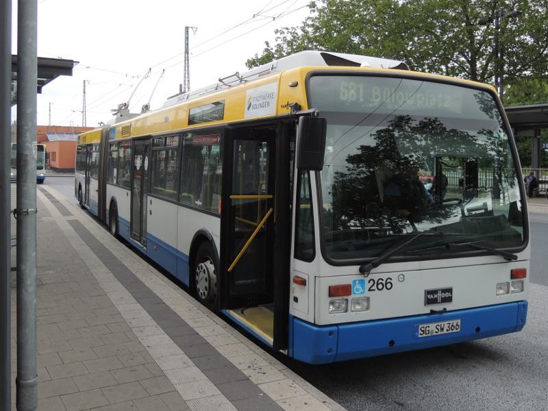 Van-Hool-Obus der Stadtwerke Solingen