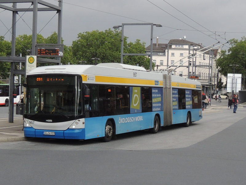 Hess-Obus der Stadtwerke Solingen