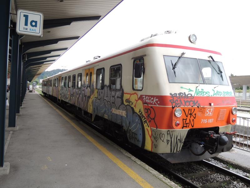 Nahverkehrstriebwagen in Ljubljana