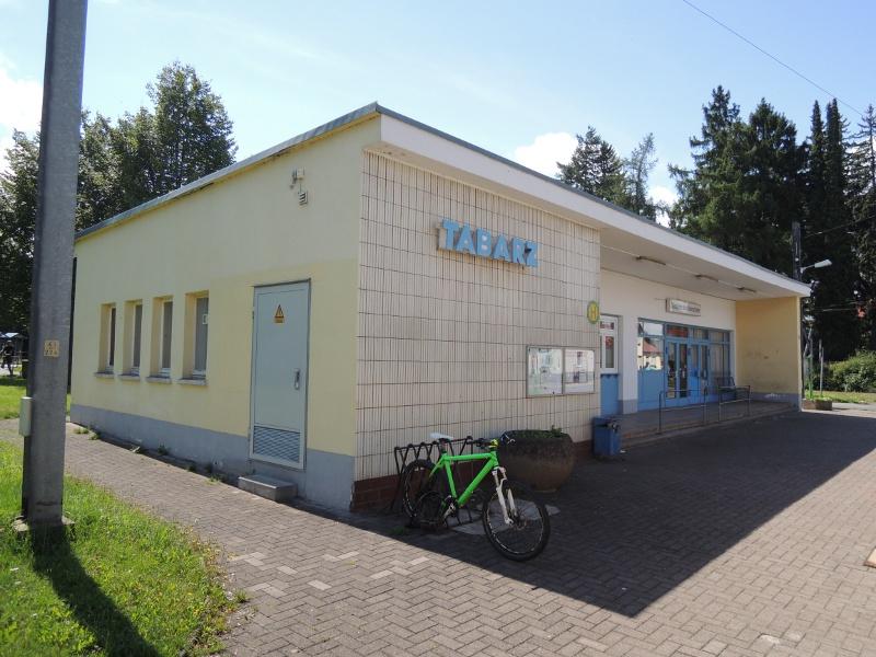 Gebäude des Bahnhofs Tabarz