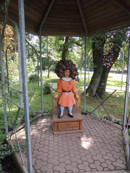 Figur im Struwwelpeter-Park in Tabarz