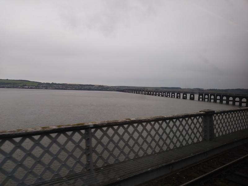 Fahrt über die Tay Bridge