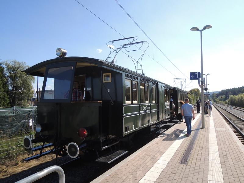 Triebwagen Zeug Christe der Trossinger Eisenbahn