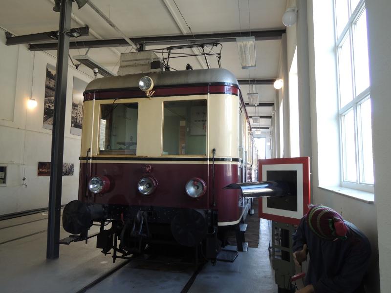Triebwagen 3 der Trossinger Eisenbahn
