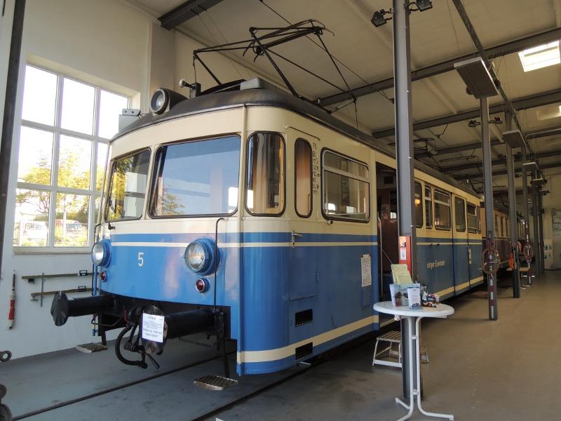 Triebwagen 5 der Trossinger Eisenbahn