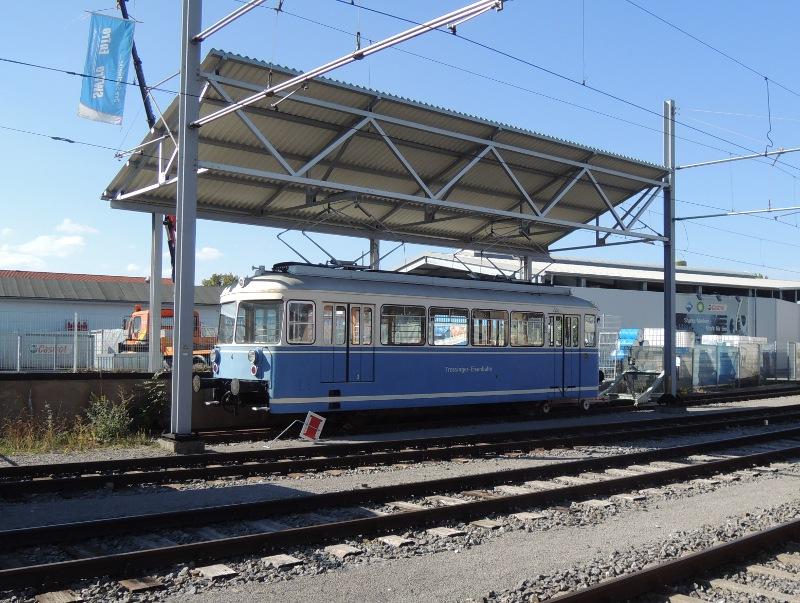 Triebwagen 6 der Trossinger Eisenbahn