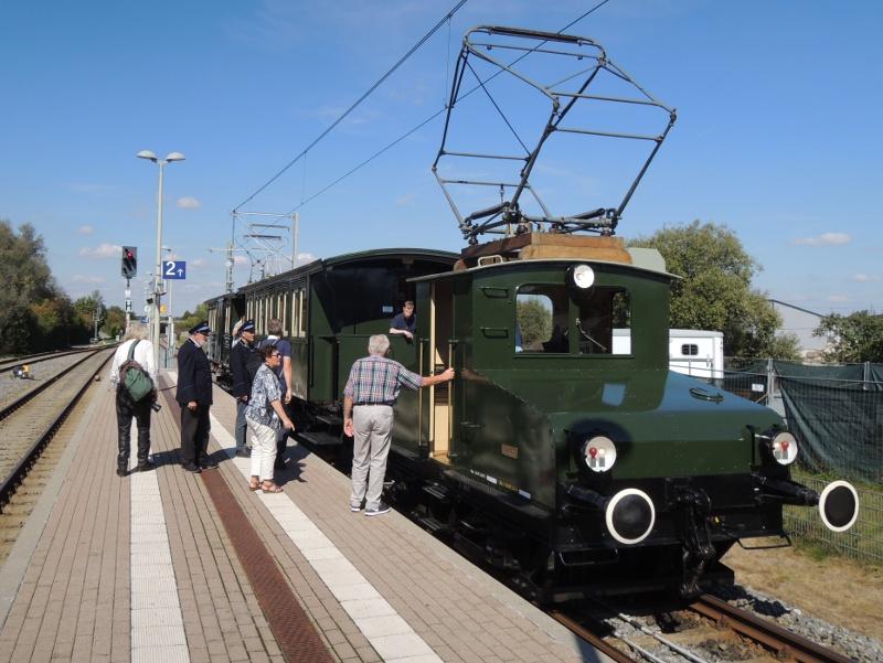 Lok Lina der Trossinger Eisenbahn