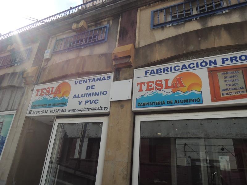 Tesla-Geschäft in Portugalete
