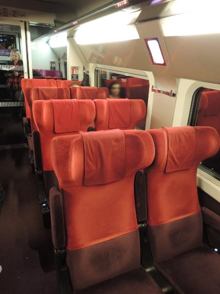 neue Thalys-Inneneinrichtung