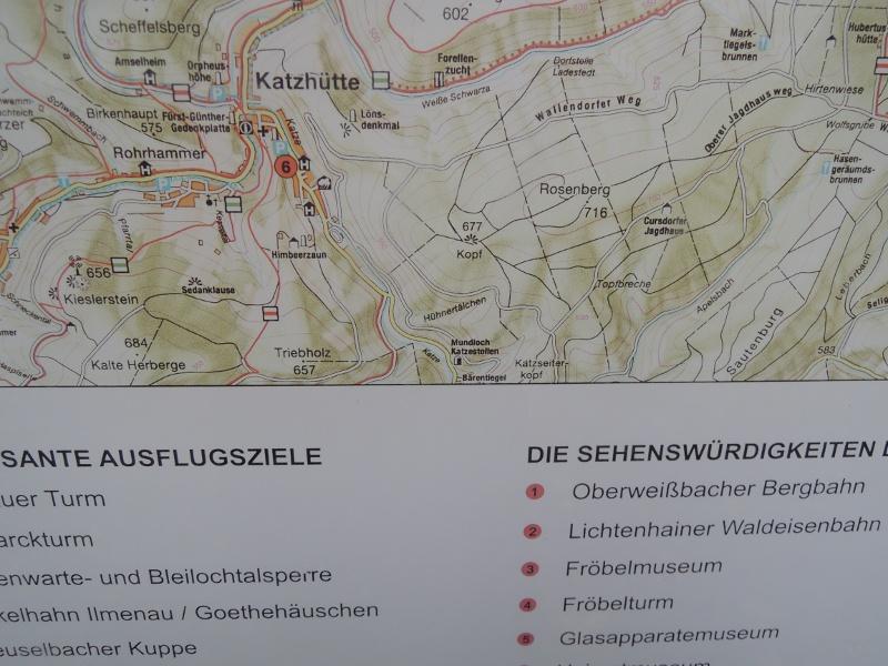 Landkarte mit Tiernamen