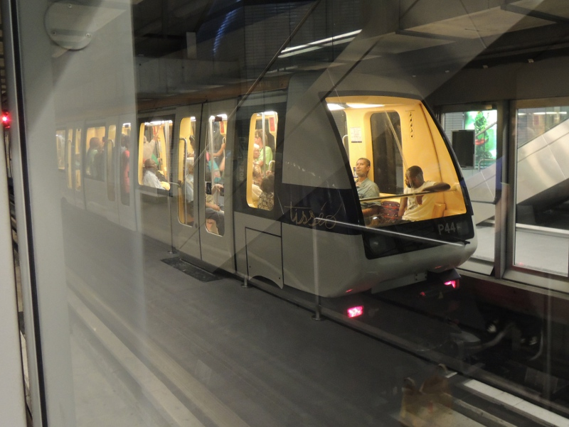 Fahrerlose VAL-Metro in Toulouse