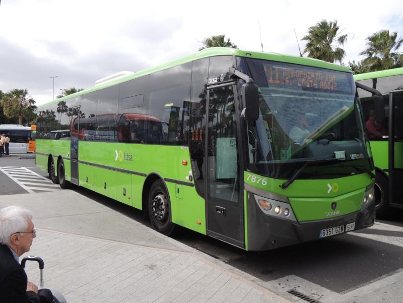 Bus der TITSA
