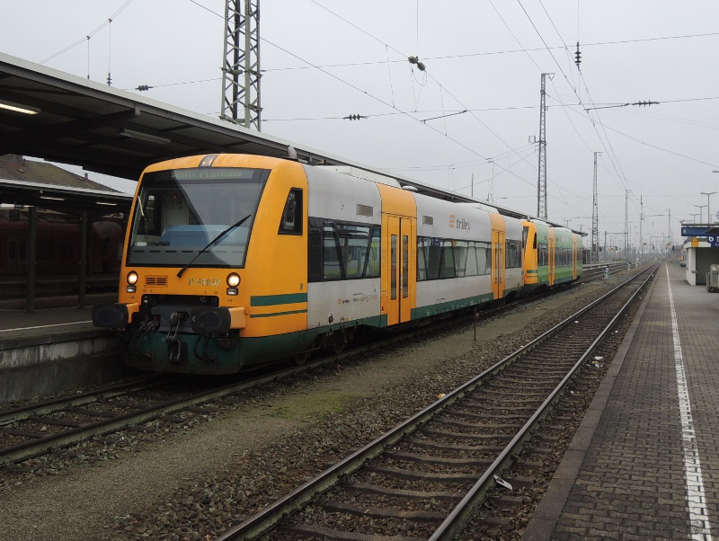 Trilex-Regio-Shuttle in Plattling