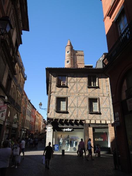 In der Altstadt von Toulouse