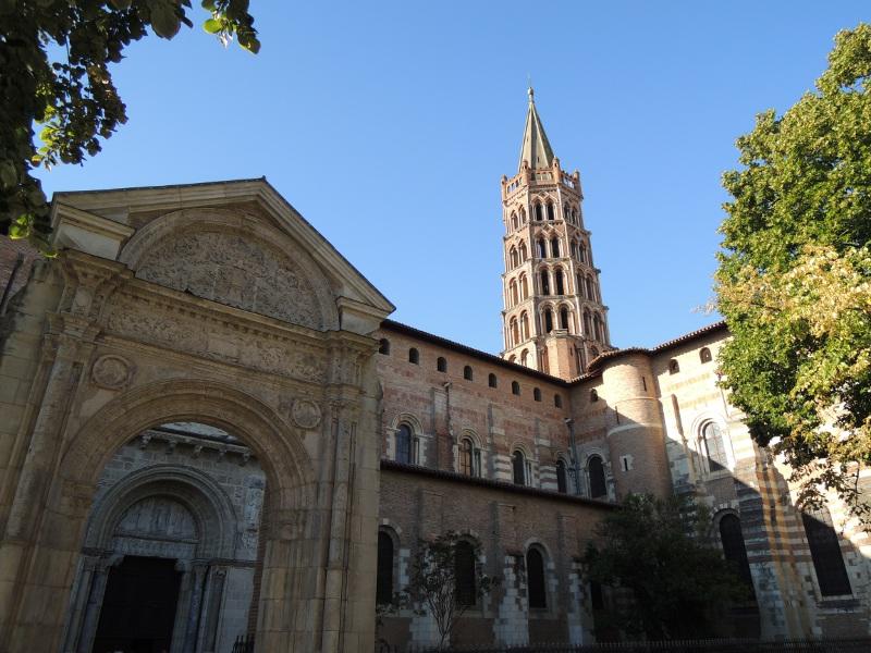 Basilika St-Sernin in Toulouse