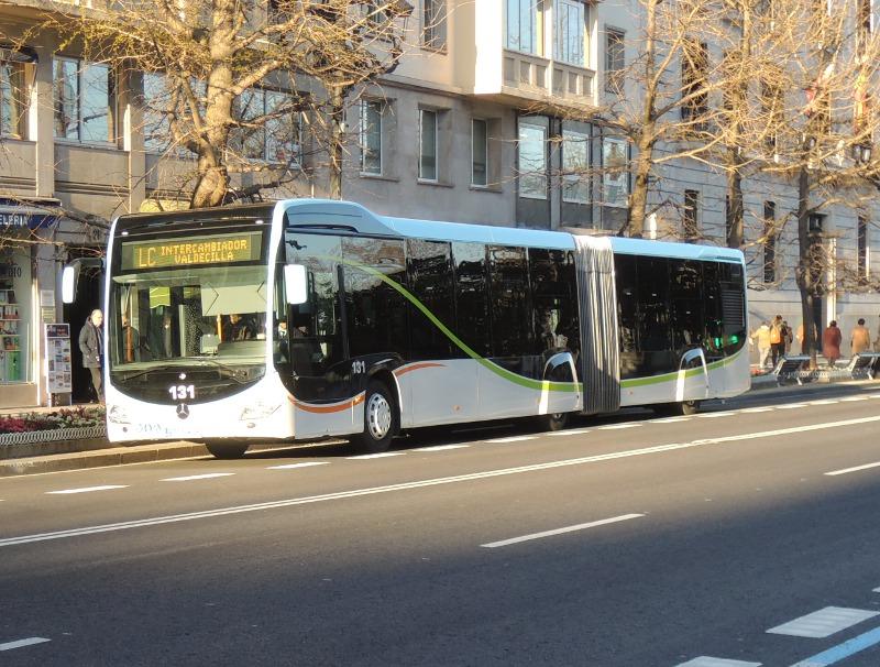 Citaro-Gelenkzug in Santander
