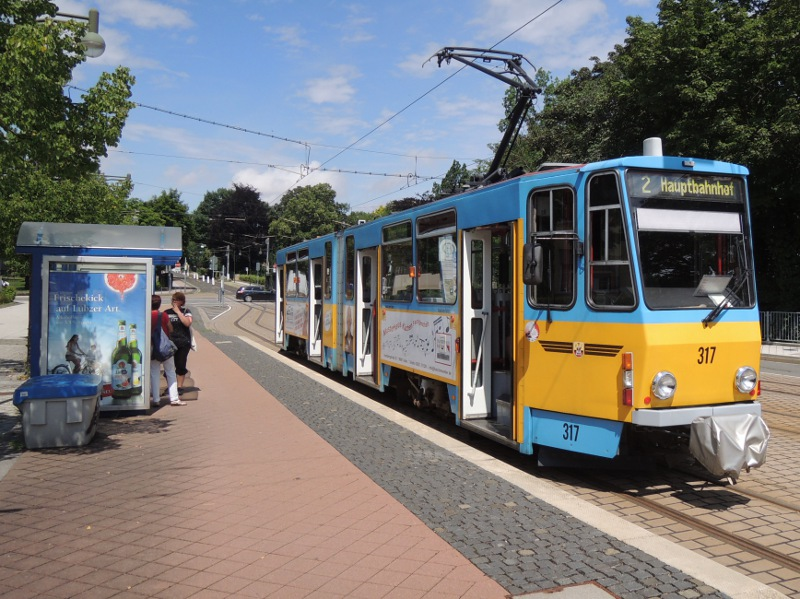 Tatra-Wagen der TWSB