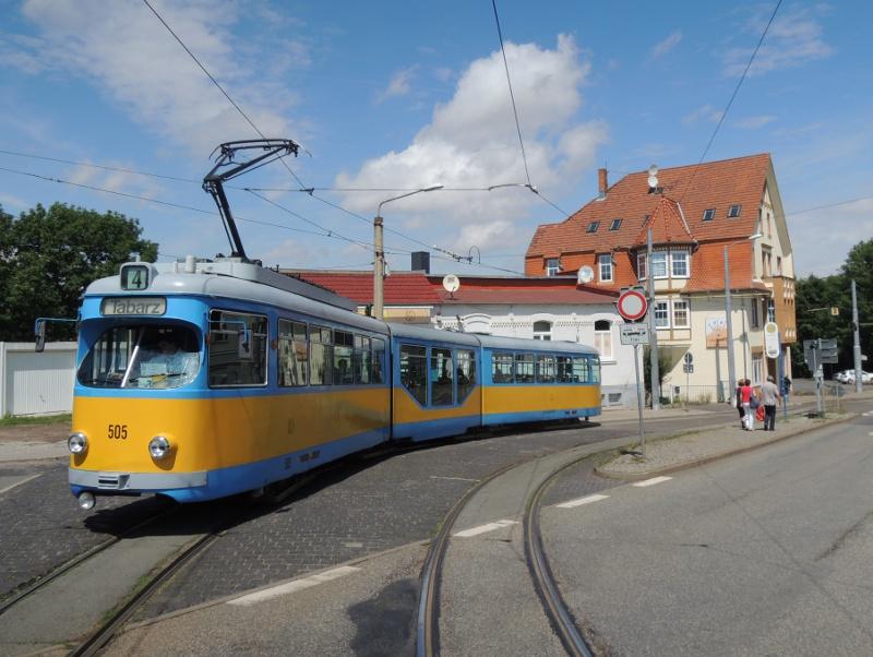 Duewag-Wagen der TWSB