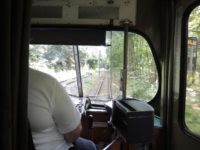 Thüringerwaldbahn mit paralleler Bahnstrecke